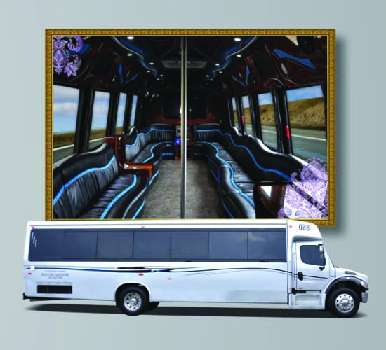 Broadway Elite Luxury Limo Bus